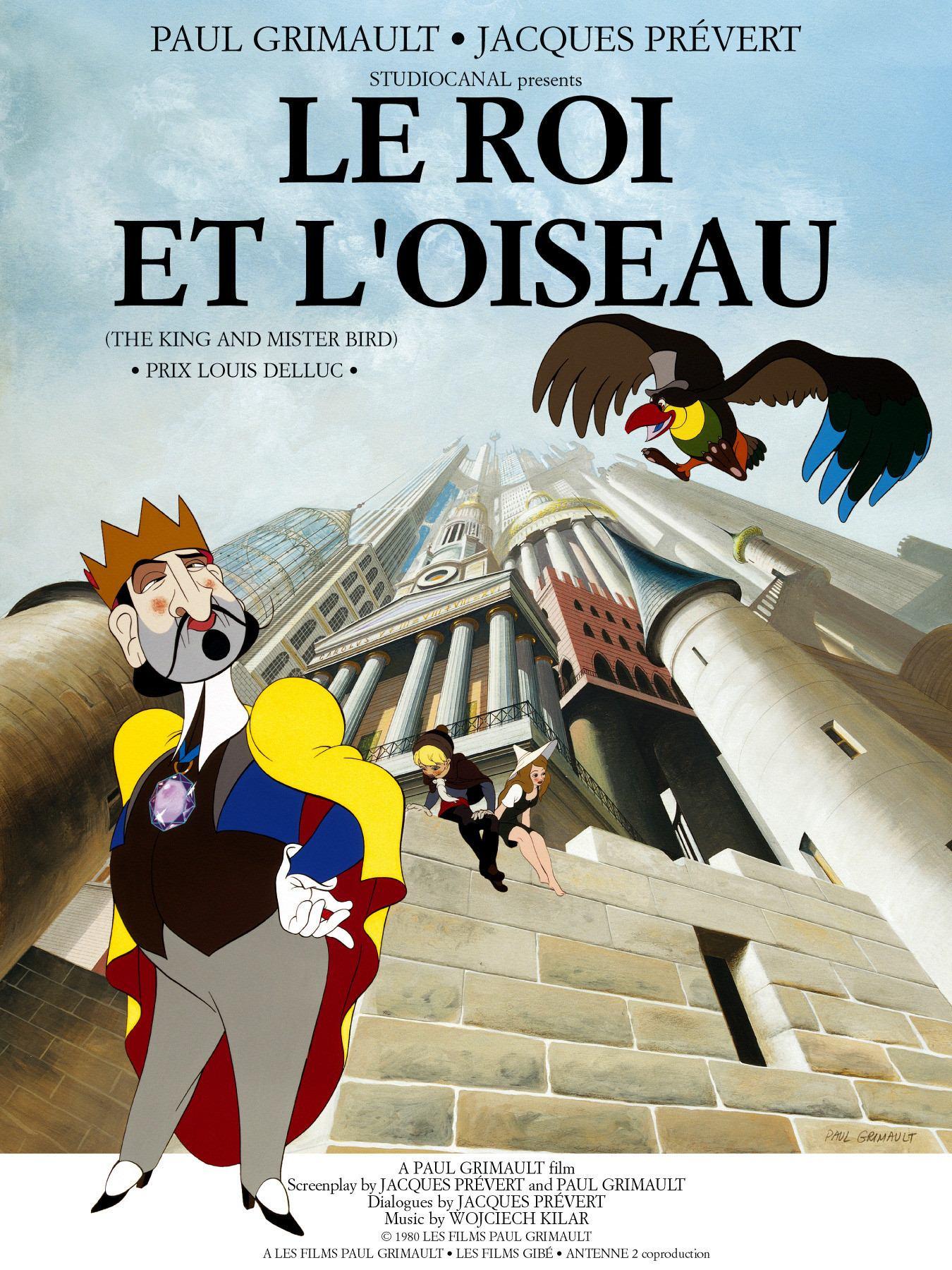 Votre dernier film visionné - Page 14 Le-roi-et-l-oiseau