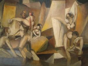 Albert Gleizes, Les baigneuses, 1912
