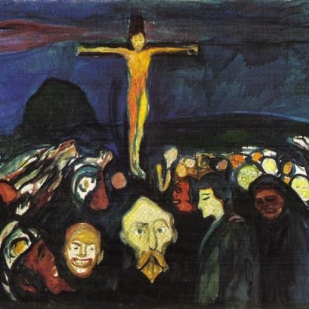 Edvard Munch, Golgotha, 1900