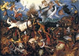 Bruegel  La chute des anges rebelles