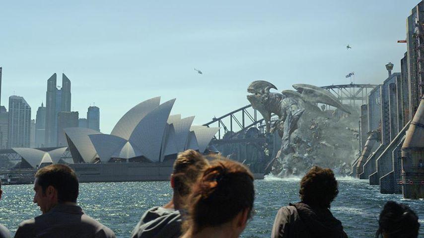 Un Kaiju à Sidney