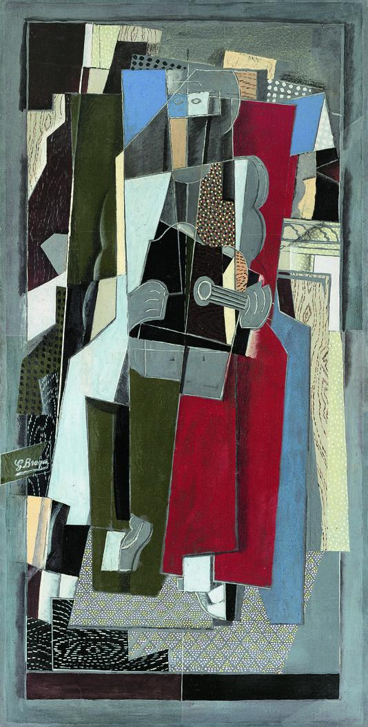 Exposition braque au grand palais zone critique for Braque peintre