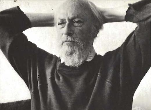 L'écrivain Don Carpenter (1931 - 1995)