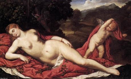 Pâris Bordone, Vénus et Cupidon