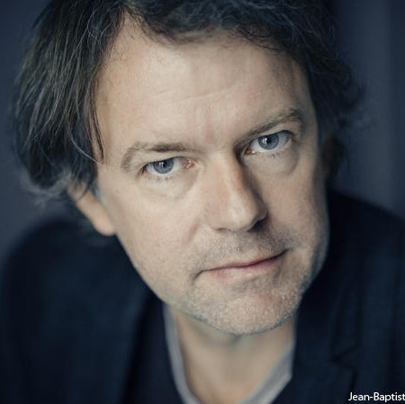 Yannick Haenel (crédit photo : Jean-Baptiste Millot - Gallimard)