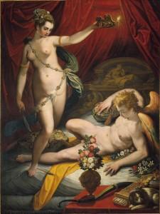 Jacopo Zucchi, Amour et Psyché