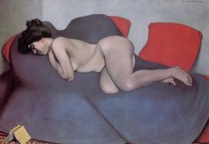 Felix Vallotton, Le Sommeil , huile sur toile,1908.