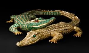 Collier Crocodiles Cartier
