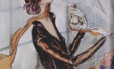 La Garcome, Jean-Gabriel Domergue, 1925