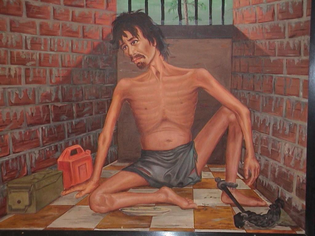 Peinture de Vann Nath