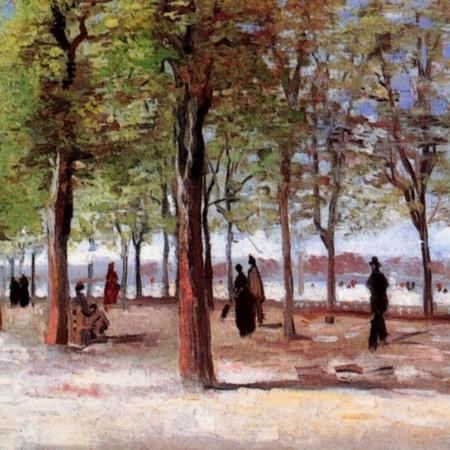 Vincent Van Gogh, Jardin du Luxembourg