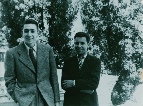 4- Auteur inconnu Henri Langlois et Georges Franju ok