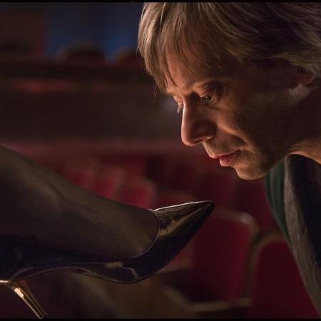 Mathieu Amalric dans La Vénus à la fourrure de Roman Polanski