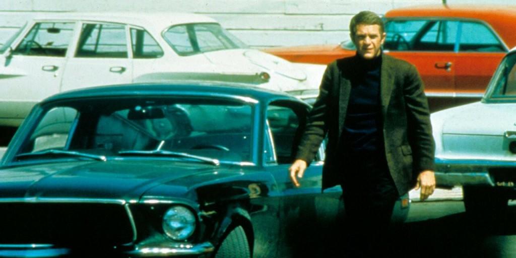 Steve MQueen dans Bullitt