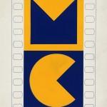 Essai de Logo pour le Musée du Cinéma par Vasarely