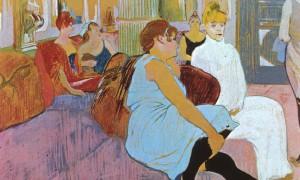 Au salon de la rue des Moulins, Toulouse-Lautrec, 1894