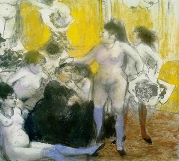 Edgar Degas, Fête à la patronne (1877)