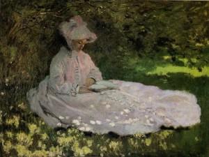 La liseuse, Claude Monet, 1871