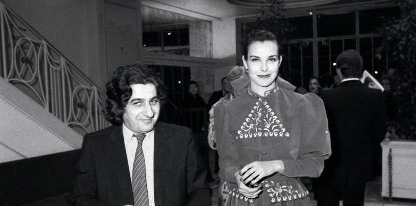 Jean-Pierre Rassam et Carole Bouquet © GINIES/VILLARD/SIPA