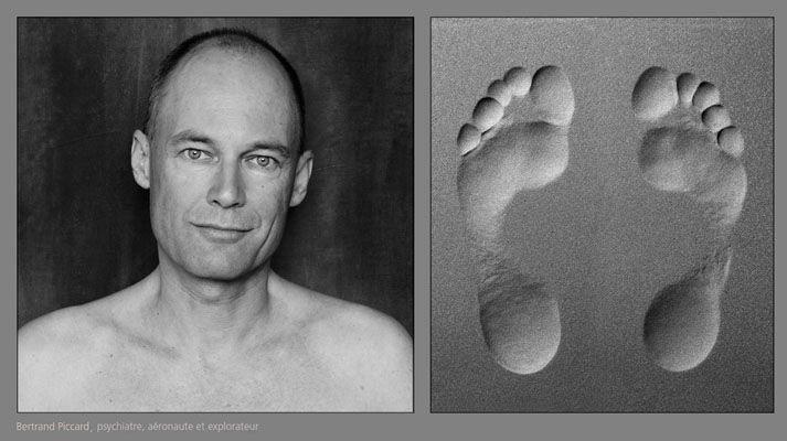 Bertrand Piccard —Dominique Derisbourg Photographie