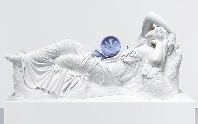Gazing Ball and Ariane, Jeff Koons