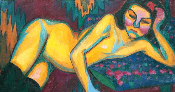 Nu jaune, Sonia Delaunay