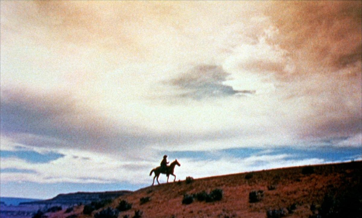 John Wayne dans La Prisonnière du désert