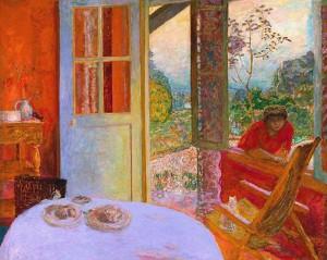 Grande salle à manger dans le jardin (1934-1935)