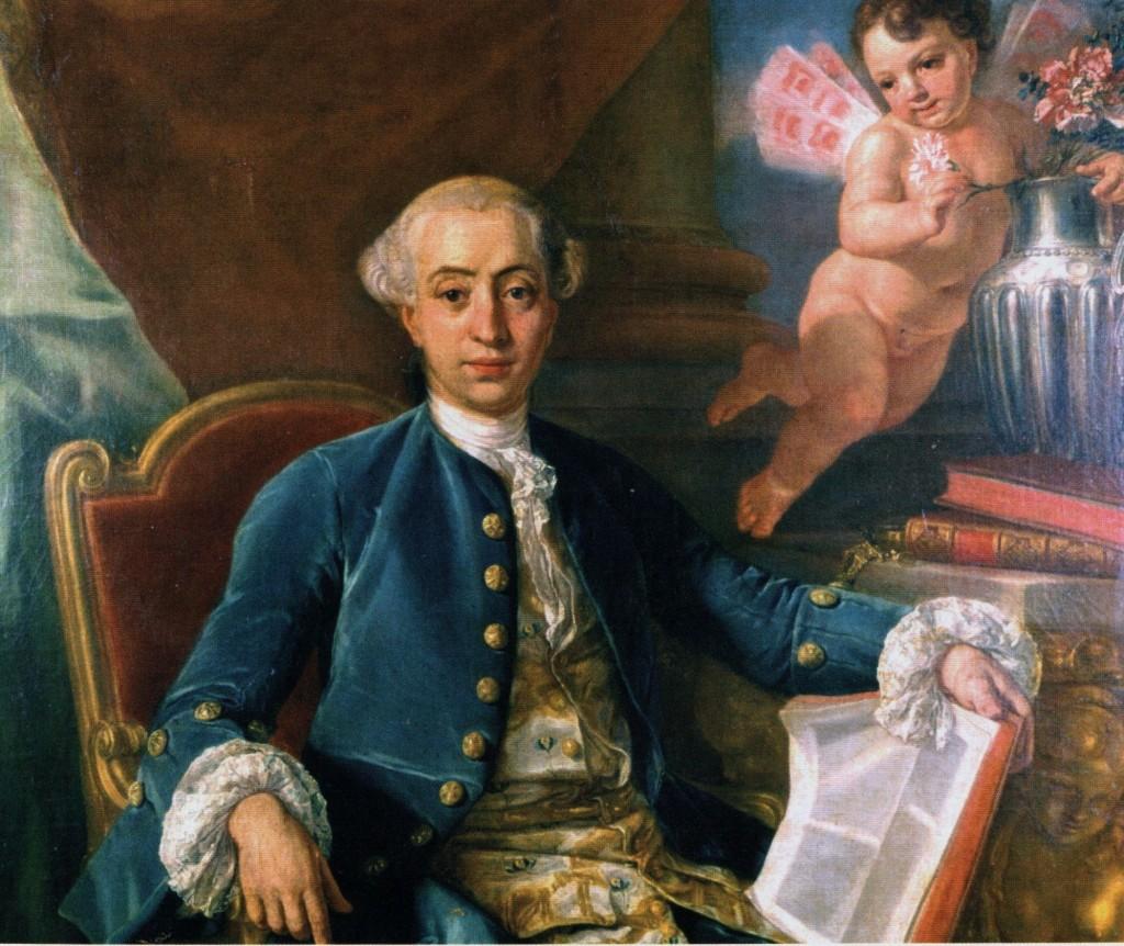 Giacomo Casanova, Anton Raphael Mengs, 1760