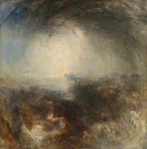 - the Evening of the Deluge, William Turner