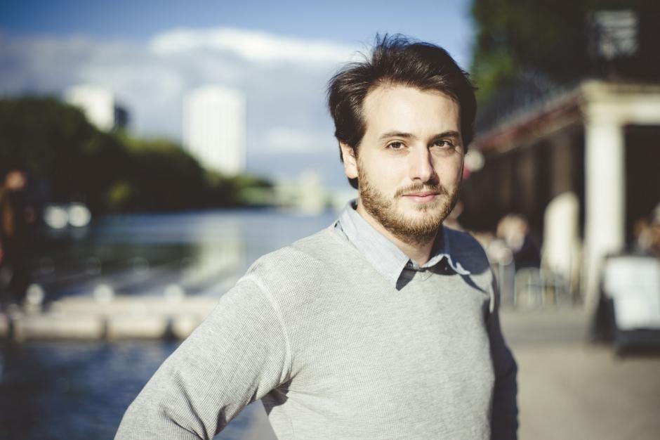 """Tristan Garcia fait sa rentrée littéraire avec """"7"""", un recueil de courts romans. Crédit : jdd.fr."""