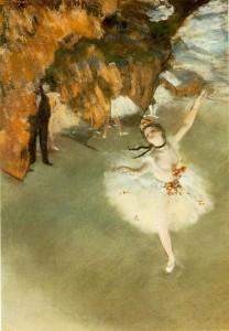 L'Etoile, Edgar Degas, 1876