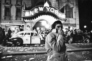 Martin Scorsese sur le tournage de New York New York