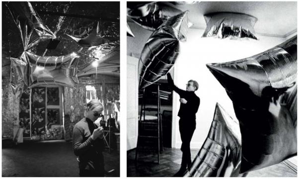 Silverclouds, Andy Warhol