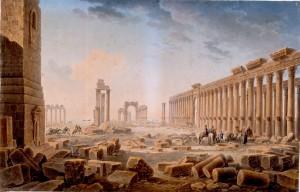 Les ruines de Palmyre, Louis-François Cassas, 1821.