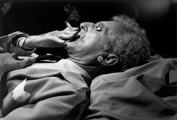 Cocteau exhale la fumée, Le Testament d'Orphée ; Lucien Clergue
