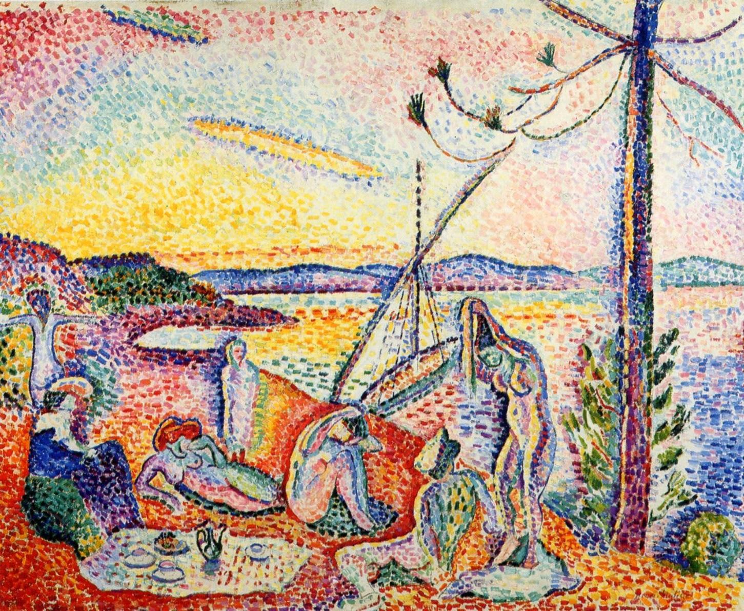 Luxe, calme et volupté d'Henri Matisse (1904-1905)