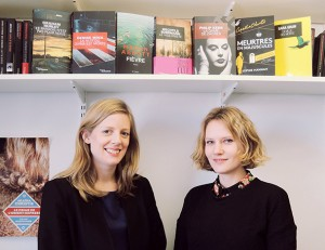 Carla Briner et Violaine Chivot, éditrices au Masque. Source: Livre Hebdo