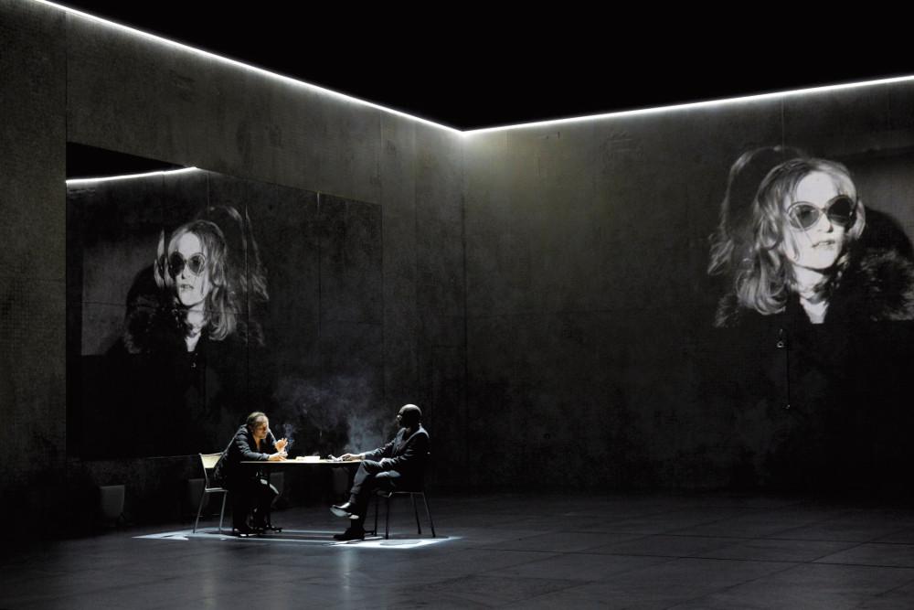 Phedre(s) de Wajdi Mouawad, Sarah Kane et J.M. Coetzee mise en scene de  Krzysztof Warlikowski au theatre de l'odeon.  (photo by Pascal Victor/ArtComArt)