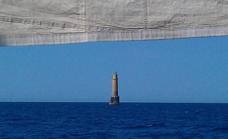 Le phare des moines dans le sud de l'île.