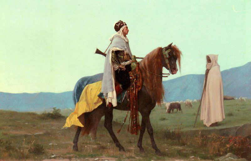 Cavalier Arabe, Gustave Boulanger.