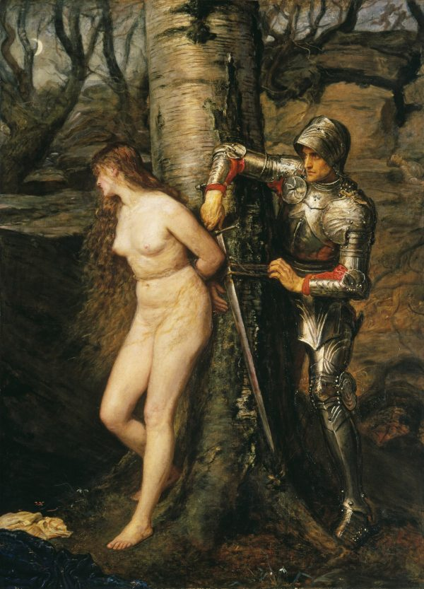 John Everett Millais The knight errant 1870 Tate: Presented by Sir Henry Tate 1894 image © Tate, London 2016