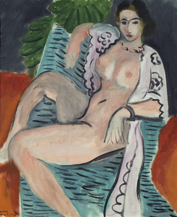Henri Matisse Draped nude 1936 Tate: Purchased 1959 © Succession H Matisse. image © Tate, London 2016
