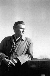Gadenne à Ustaritz en décembre 1955, 4 mois avant sa mort