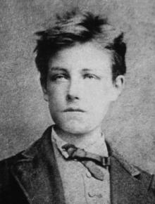 Arthur Rimbaud à dix-sept ans