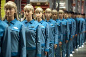 Travailleurs robots