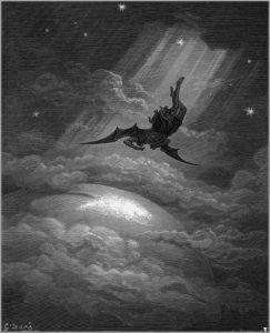 Gustave Doré, « La Chute de Lucifer ».