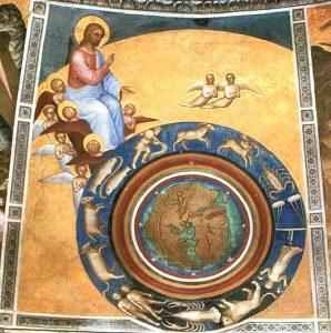 La Création, par Giusto de Menabuoi (fresque)