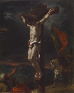 Le christ en croix, Eugène Delacroix, Museum of Art, Baltimore. 1846.
